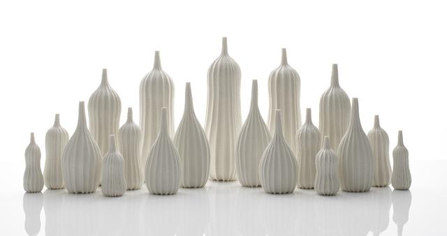 , 'Garniture of Nineteen Vases,' 2018, Adrian Sassoon