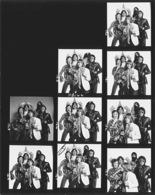David Bailey, 'Rolling Stones Contact Sheet', 1966, Gagosian