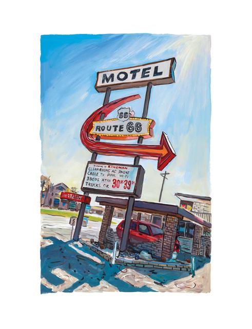 Bob Dylan, 'Kingman, Arizona', 2017, Castle Fine Art