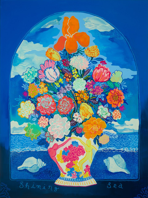 , 'Shining Sea,' 2019, Rebecca Hossack Art Gallery