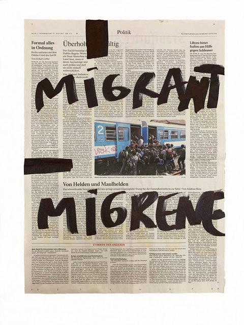 , 'Le mur, après le mur, après le mur #145,' 2018, Michel Rein Paris/Brussels