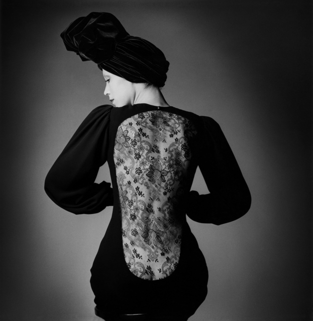 , 'DRESS BY YVES SAINT LAURENT · PARIS, VOGUE,' 1970, Ira Stehmann Fine Art Photography