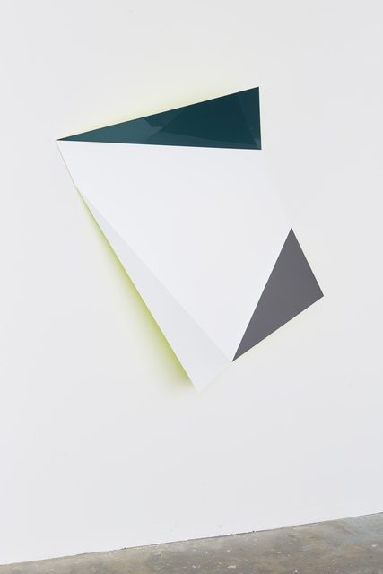 , 'No. 730 L Fold,' 2017, Galerie Christian Lethert