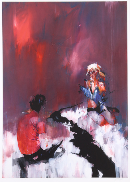 Ian Francis, 'Paris Hilton: Alas My Love! For We Are Separated By A Dark River! Paris Hiltons Lover: If I Were You I'd Probably Do The Same Things You Do'', 2008, Chiswick Auctions