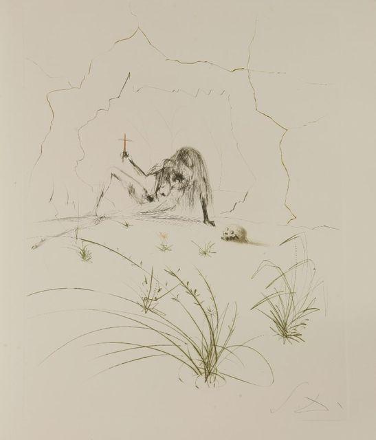 Salvador Dalí, 'Brother Ogrin, The Hermit', 1970, Sworders