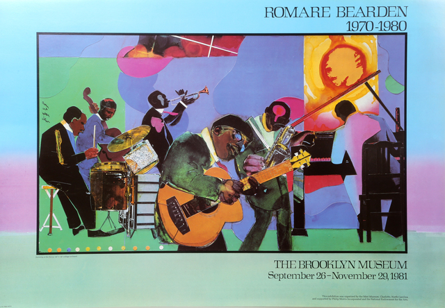 Romare Bearden, 'Brooklyn Museum: Jamming at the Savoy', 1981, RoGallery