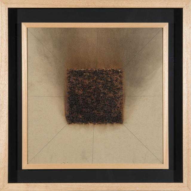 , 'Têtes d'allumettes coupées et collées,' 1974, De Buck Gallery