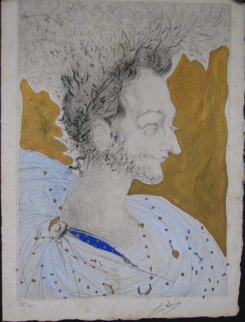 , 'Les Amours de Cassandre Portrait de Ronsard,' 1968, Fine Art Acquisitions