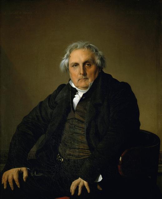 Jean-Auguste-Dominique Ingres, 'Louis Francois Bertin, Publisher', 1832, Erich Lessing Culture and Fine Arts Archive