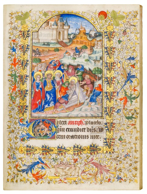 , 'Fauquier Books of Hours,' 1420-1440, Dr. Jörn Günther Rare Books