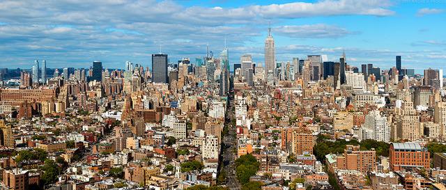 Andrew Prokos, 'Panoramic Cityscape of Manhattan from SoHo', 2016, Andrew Prokos Fine Art Photography