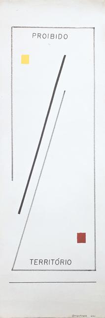 , 'Território / Proibido,' 1989-2001, Galeria Karla Osorio