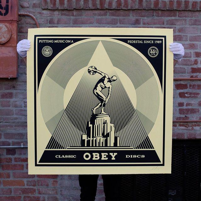 Shepard Fairey (OBEY), 'Classic Discs', 2014, Samuel Owen Gallery