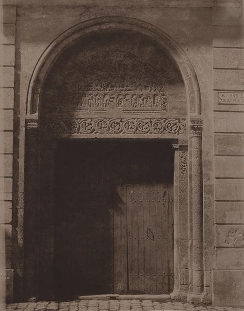 , 'Porte de Préfecture a Cathédrale de Bourges,' 1851, Contemporary Works/Vintage Works