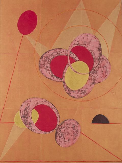 , 'Mecanismo en el Plano Eliptico (Mechanism with Elliptical Plane),' 2013-2014, Gallery Elena Shchukina