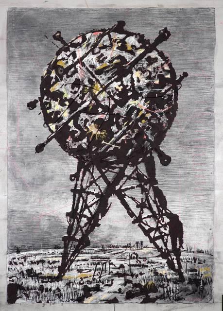 , 'World on Hind Legs II,' 2014, Goodman Gallery