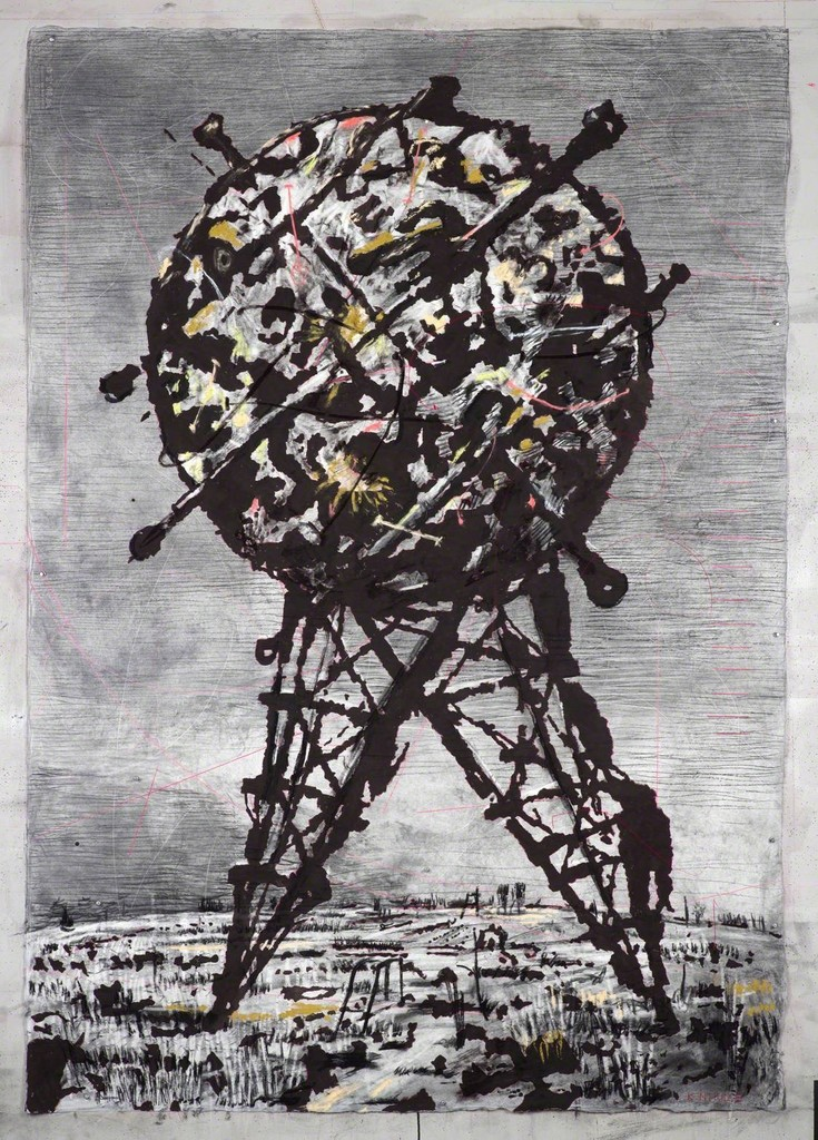 William Kentridge, 'World on Hind Legs II,' 2014, Goodman Gallery