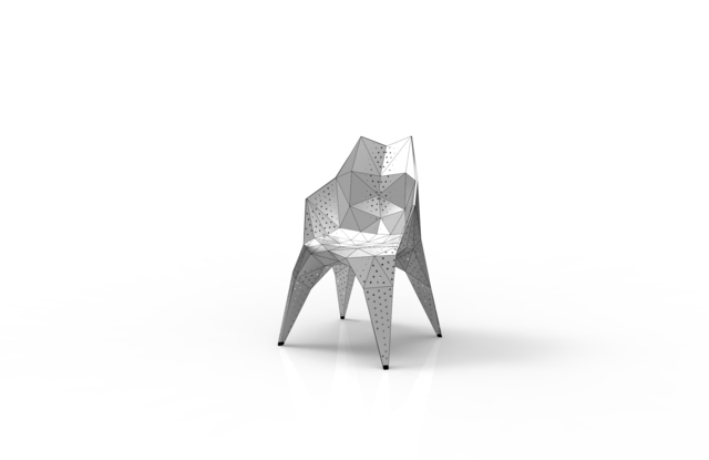 , 'MC011-D-Matt (Endless Form Chair Series),' 2018, Gallery ALL