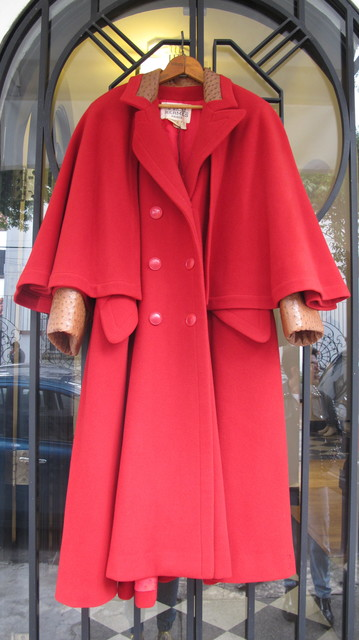 , 'Red Ostrich Coat,' 1970, VOID