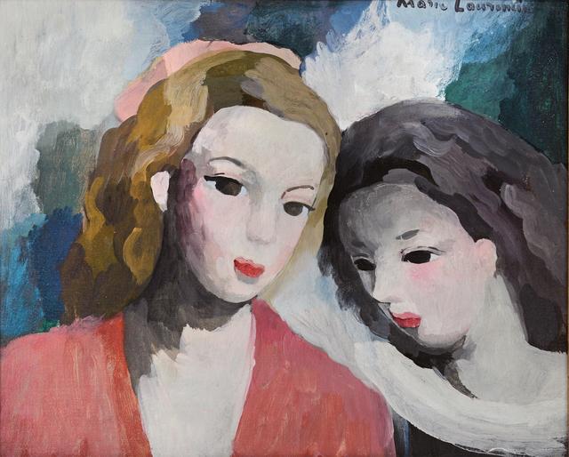 , 'Deux Femmes,' ca. 1930, Robert Funk Fine Art