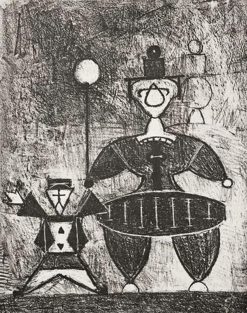 Roy Lichtenstein, 'Mother and Child', 1948, Georgetown Frame Shoppe