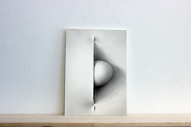 ", 'Postcards to C: Maria Bartuszova's ""Hommage a Fontana II, 1987"",' 2017, Josée Bienvenu"