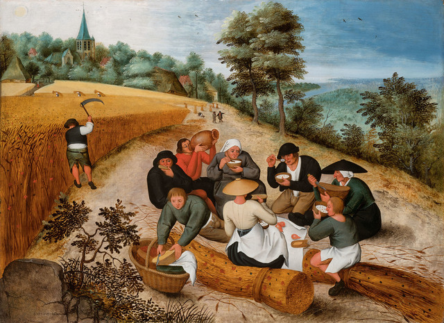 , 'Summer: the harvesters' meal,' 1600, De Jonckheere