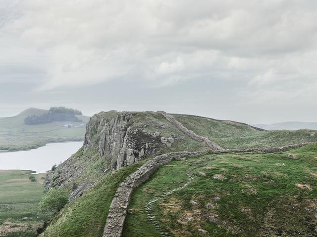 , 'Hadrian's Wall,' 2017, Robert Morat