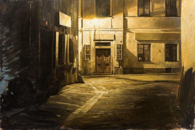 Nicola Nannini, 'Notte. Odore di zolfo N.3', 2019, Galleria Punto Sull'Arte