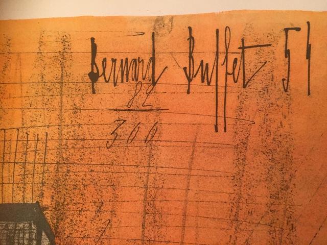Bernard Buffet, 'Horreur de la guerre (War Horror)', 1954, Puccio Fine Art