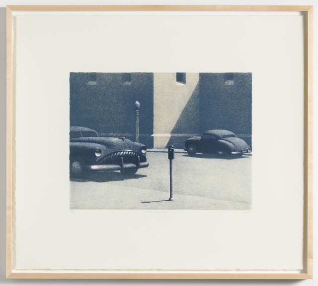 Michael Chapman, 'Two Blue Cars in L.A.', 1995, Lora Schlesinger Gallery