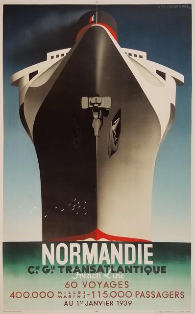 , 'Normandie - Transatlantique Ocean Liner,' 1935, Omnibus Gallery