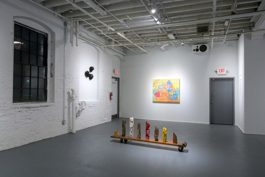 Work by Ronald Gonzalez, Dennis Congdon, and Nicholas Cueva in ON THE STUMP