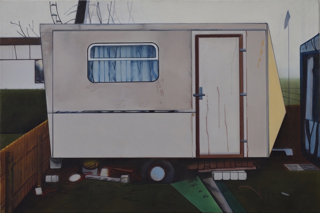 Thoralf Knobloch, 'Wohnwagen', 2019, Painting, Oil on canvas, Gaa Gallery