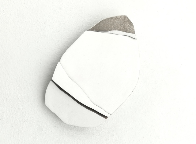 , 'Of Things Unknown But Longed For Still - Brooch White #1,' 2018, Galerie Beyond