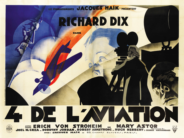 , 'The Lost Squadron - French Movie Poster,' 1932, Omnibus Gallery