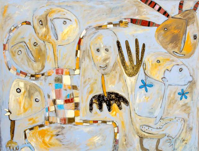 Méné, 'Tous en coeur', 2019, Out of Africa Gallery