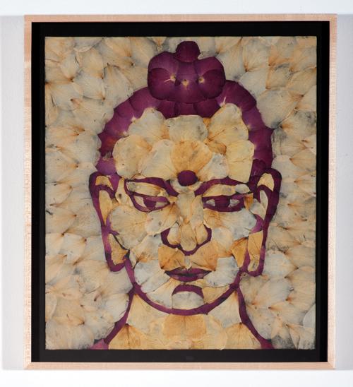 , 'Rose Petal Buddha,' 2010, Rosamund Felsen Gallery