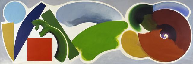 , 'The Wildenstein Hermitage,' 1990, Bernard Jacobson Gallery