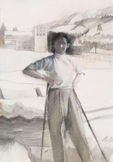 , 'La skieuse,' 2018, Anquins Galeria