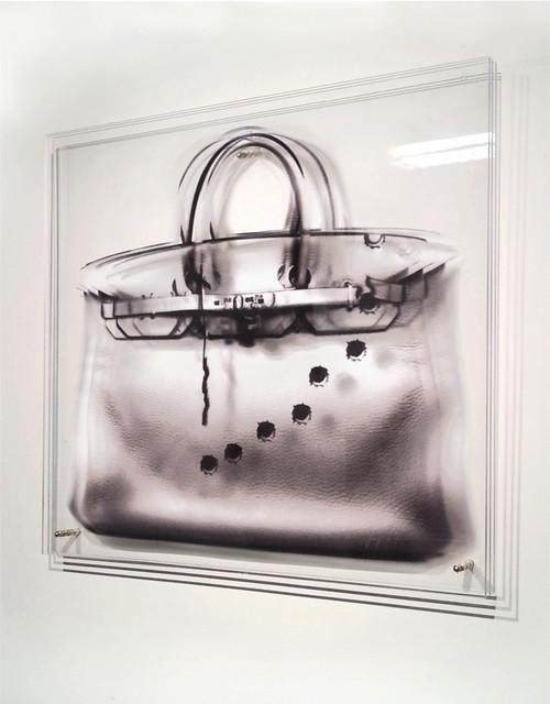 , 'FEMMES AU BORD DE LA CRISE DE GUERRE - Sac impacts,' 2014, Mark Hachem Gallery