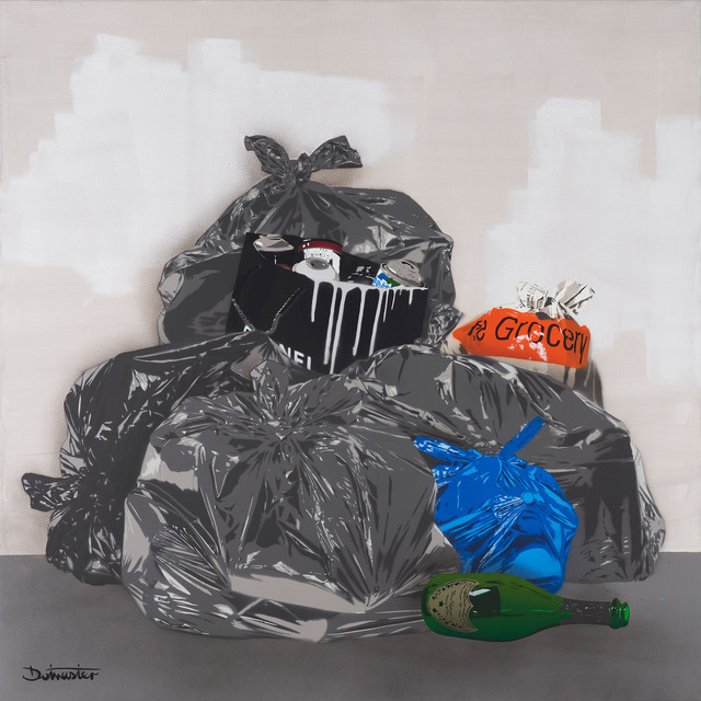 , '1m squared trash - Paris ,' 2019, GCA Gallery