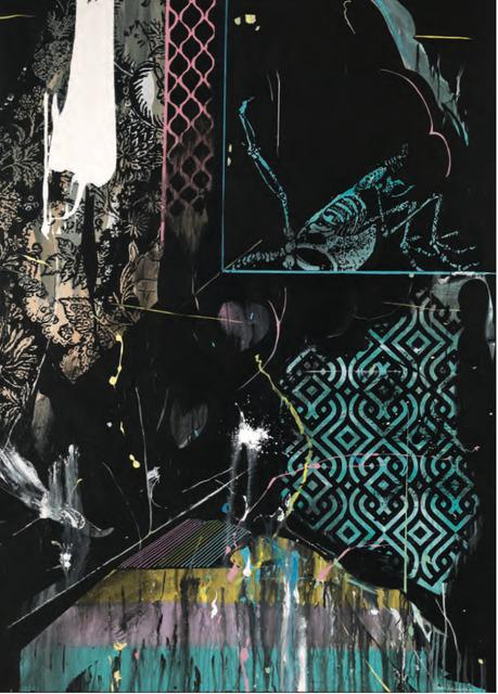 , 'Wounded Bird (Bernie Katz RIP),' 2017, Maddox Gallery