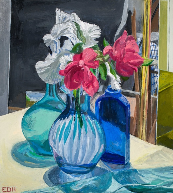 , 'Still Life with Roses and Iris,' , Cerulean Arts