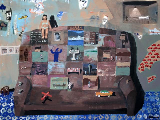 , 'Sillón con Bikin,' 2012, Galeria Sur