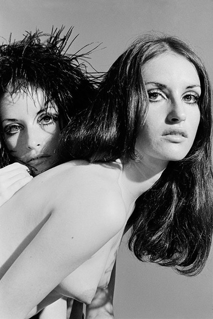 , 'The Sanchez twins topless,' 1968, Mouche Gallery