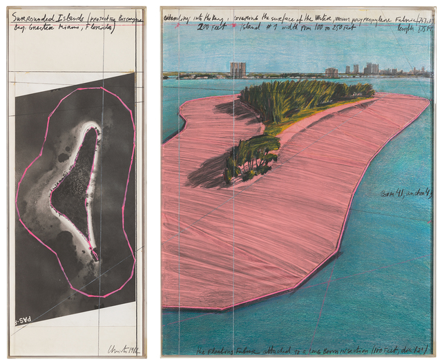 , 'Surrounded Islands (Project for Biscayne Bay),' 1982, Repetto Gallery