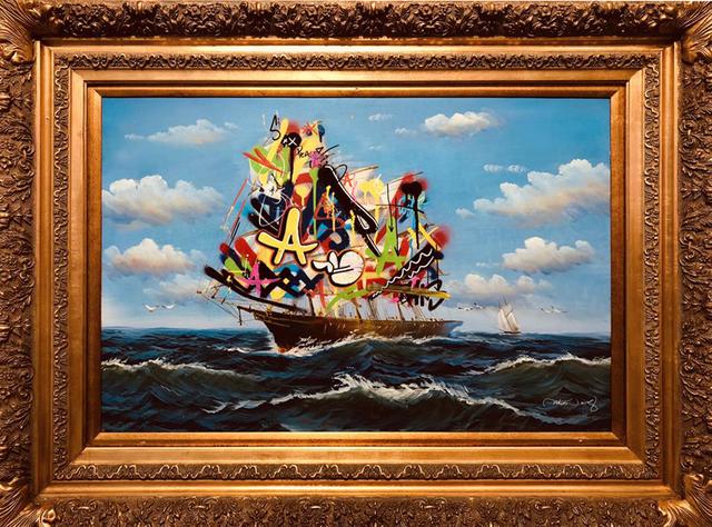 , 'Sailboat V,' 2018, NextStreet Gallery