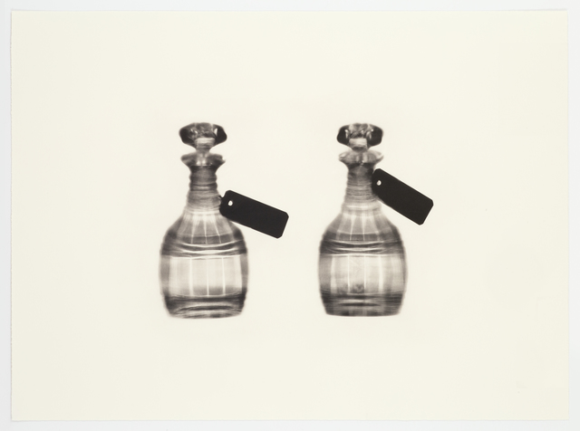 , 'Fox Talbot's Articles of Glass (tagged decanters),' 2016, Alan Cristea Gallery