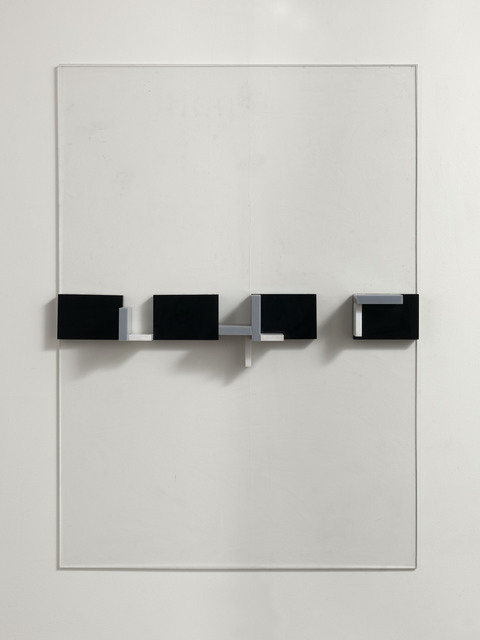 , 'Constructed perspex relief,' 1966, Waterhouse & Dodd